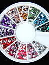600PCS Colorful Butterfly Shaped Flatback Acrylic Gems Handmade DIY Craft Material