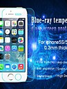 아이폰 5 / 5C / 5S에 대한 huyshe 안티 푸른 빛 0.33mm 두께 스크래치에 강한 강화 유리 화면 보호기