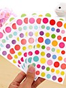 Colorful Funny Dot Sticker Set(6 PCS)