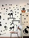 экологические съемные кошка рисунок теги пвх&наклейка