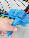 Chain Cleaner Brush Convenient Cycling / Bike Plastic Blue - 1pcs