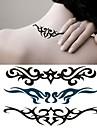 Personality Waist Flower Arm Tattoo Stickers Temporary Tattoos(1 Pc)