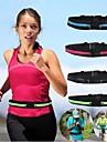 Bel Çantaları Kemer Kılıfı için Maraton Plecaki sportowe Çok Fonksiyonlu Taşınabilir Yağmur-Geçirmez Koşu Çantası iPhone X iPhone XR iPhone XS Polyester Tuval Terylene Gül Kırmızısı Yeşil Mavi Unisex