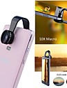 Apexel 2 in 1 Clip-on No Dark Circle Wide Angle 0.67X + Macro Lens 10X for Samsung Phone and Others(Assorted Color)