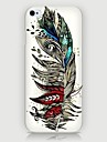 Colourful Feathers Pattern Back Case for iPhone5/5S