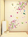 Animals Still Life Romance Fashion Botanical Wall Stickers Plane Wall Stickers Decorative Wall Stickers, Vinyl Home Decoration Wall Decal