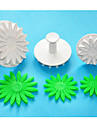 Four-C afrique daisy / tournesol fondant gateau decoration coupeurs de plongeur, coupe Sugarcraft, des outils de decoration de gateau