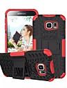 Capinha Para Samsung Galaxy Samsung Galaxy Capinhas Antichoque Com Suporte Capa traseira Armadura PC para S6