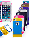 Coque Pour iPhone 5 Coque iPhone 5 Antichoc Coque Armure Flexible Silicone pour iPhone SE/5s iPhone 5