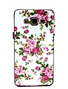 용 삼성 갤럭시 케이스 패턴 케이스 뒷면 커버 케이스 꽃장식 PC Samsung A5