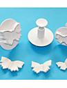 Four-C бабочка торт поршень катера, высокое качество помадные инструменты, печенье резак торт набор инструментов