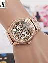 Women's Fashion Diamond Leopard Quartz Analog Steel Belt Watch(Assorted Colors) Cool Watches Unique Watches