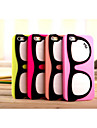 Silicone Material Big Glasses Style for iPhone 6/6S (Assorted Colors)