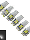 T10 Decoration Light 20 SMD 3528 85lm Cold White 6000-6500K DC 12V