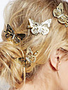 European Style Fashion Jewelry Lovely Delicate Butterfly Hairpin Bride Headdress (Single)