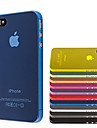 ultra pc mince couverture de cas transparent pour iPhone 4 / 4S (couleurs assorties)