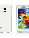 Transparent Silicone Back Cover for Samsung S5 Mini
