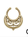 Body Piercing Jewellery Punk Stainless Steel  Hollow Out Nose Ring Body Jewelry Piercing