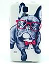 teste padrão do cão óculos TPU macio para S5 galáxia mini-