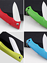 Foldable Ceramic Knife Colorful Fruit Peeler (Random Color) 18X3.5X2cm