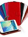 용 삼성 갤럭시 케이스 카드 홀더 / 스탠드 / 플립 / 패턴 / 마그네틱 케이스 풀 바디 케이스 단색 인조 가죽 Samsung A3