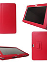Case For Tab S 8.4 Samsung Galaxy Tab A 8.0 Tab S2 9.7 Tab S2 8.0 Samsung Galaxy Case with Stand Flip Full Body Cases Solid Color PU