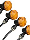 4pcs Motorcycle Light Bulbs LED Motorcycle Lighting For universal