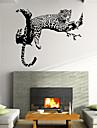 벽 스티커 벽 데칼 스타일의 창조적 인 성격의 호랑이 PVC 벽 스티커