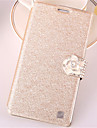 For Samsung Galaxy Case Card Holder / Rhinestone / with Stand / Flip Case Full Body Case Glitter Shine PU Leather SamsungWin / Style Duos