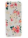 아이폰 5C를위한 아름다운 꽃 패턴 하드 케이스