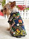 Собака Джинсовые куртки Одежда для собак Мода Джинсы Темно-синий Светло-синий Костюм Для домашних животных