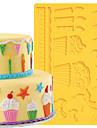 1pc Inovador Bolo Plastico Alta qualidade Moldes de bolos