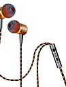 Plextone No ouvido Com Fio Fones Aluminum Alloy Celular Fone de ouvido Com controle de volume Com Microfone Fone de ouvido