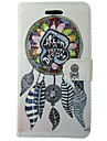 For Samsung Galaxy Case Card Holder / Wallet / with Stand / Flip Case Full Body Case Dream Catcher PU Leather SamsungTrend Lite / Trend