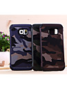 For Samsung Galaxy Case Pattern Case Back Cover Case Camouflage Color PC Samsung S6 edge / S6 / S5