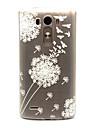Pour Coque LG Etuis coque Transparente Coque Arriere Coque Pissenlit Flexible PUT pour LG LG G3 LG Spirit/LG C70 H422