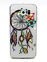 "Для Кейс для  Samsung Galaxy Прозрачный Кейс для Задняя крышка Кейс для Рисунок ""Ловец снов"" TPU SamsungS6 edge plus / S6 edge / S6 / S5"
