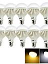 E26/E27 Lampada Redonda LED B 15 leds SMD 5630 Decorativa Branco Quente Branco Frio 700lm 3000/6000K AC 220-240V