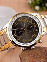 Жен. Модные часы Кварцевый сплав Группа Винтаж Золотистый
