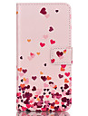 For Samsung Galaxy Case Wallet / Card Holder / with Stand / Flip Case Full Body Case Heart PU Leather SamsungS6 edge plus / S6 edge / S6