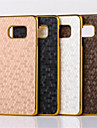 용 삼성 갤럭시 케이스 도금 케이스 뒷면 커버 케이스 기하학 패턴 PC Samsung S7 edge plus / S7 edge / S7 / S6 edge plus / S6 edge / S6 / S5 Mini / S5 / S4