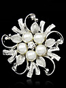 Women\'s Brooches - Imitation Pearl Fashion Brooch Silver For Party / Special Occasion / Birthday