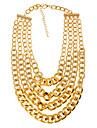 Pentru femei Lănțișoare - European Argintiu, Auriu Coliere Bijuterii Pentru Petrecere, Zilnic, Casual