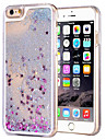 Case For Apple iPhone 6 iPhone 6 Plus Flowing Liquid Transparent Back Cover Glitter Shine Hard PC for iPhone 6s Plus iPhone 6s iPhone 6