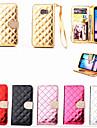 Pour Samsung Galaxy Coque Portefeuille Porte Carte Strass Avec Support Clapet Coque Coque Integrale Coque Forme Geometrique Cuir PU pour