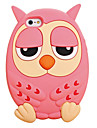 2016 Hot Fashion Top Quality 3D Cute Owl  Silicone Back Phone Case Cover for iPhone 6/6S