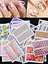 30 pcs Gioielli per unghie manicure Manicure pedicure Adorabile Di tendenza Quotidiano