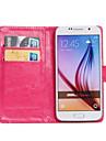 Case Kompatibilitás Samsung Galaxy Samsung Galaxy tok Kártyatartó Állvánnyal Flip 360° forgás Héjtok Tömör szín PU bőr mert Z3 Young 2