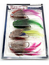 "4 pcs Flies Fishing Lures Flies phantom Multicolored g/Ounce,70 mm/2-3/4"" inch,Feather Metal Fly Fishing"