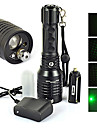 LED Flashlights/Torch LED Laser 1200 Lumens 4 Mode Cree XM-L T6 18650 AAA Impact Resistant Rechargeable Waterproof Strike Bezel Tactical